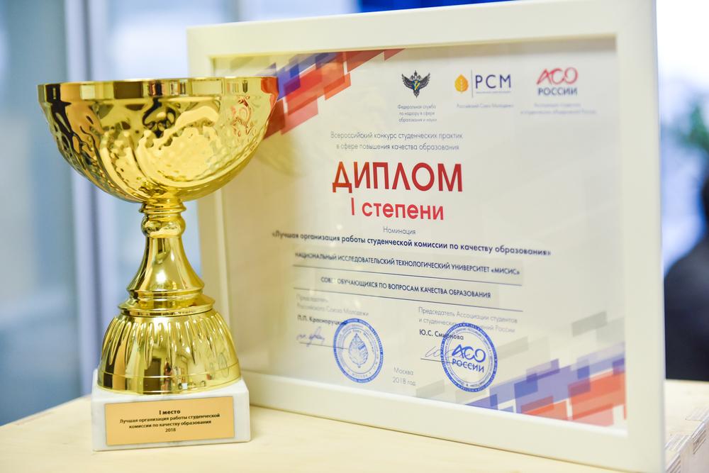 НИТУ «МИСиС» выиграл кубок Рособрнадзора